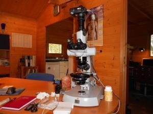 De microscoop voor LBA
