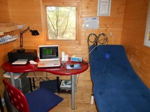 Ruimte waar ik met de bioresonantie werk