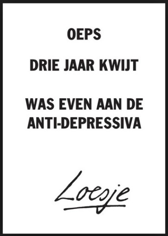 loesje-antidepressiva
